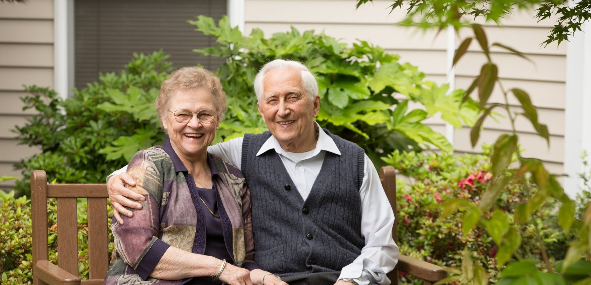 Image of Walter and Helen Friesen - Founders of Hearthstone Senior Living